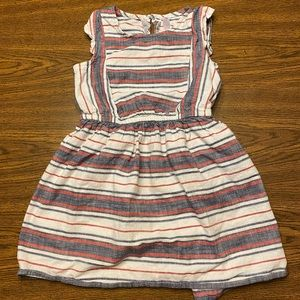 Cherokee red white and blue dress